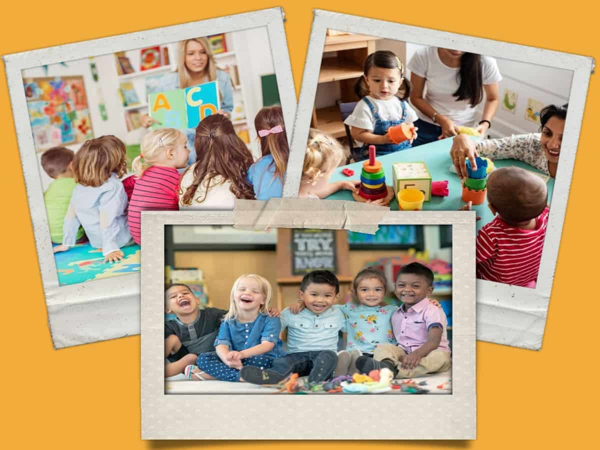 Child Care Collage